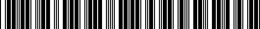 Barcode for PT4130C18002