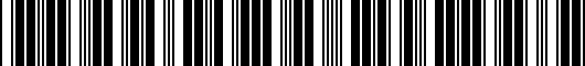 Barcode for PTS0233080CC