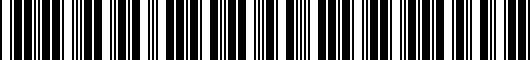 Barcode for PTS0535011SH