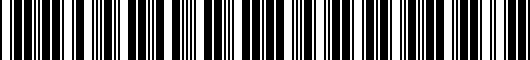 Barcode for PU06003181TP